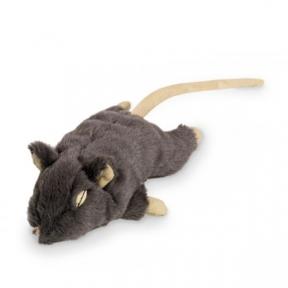 Мышка плюшевая для кошек 19см Нобби