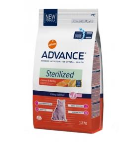 Advance Sterilized для стерилизованных котов с лососем