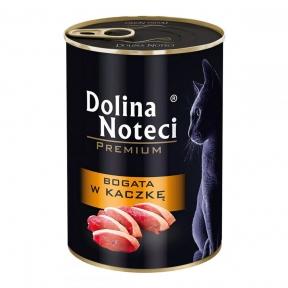 Dolina Noteci Premium консервы для кошек 400гр мясные кусочки с уткой в соусе 383741/303749