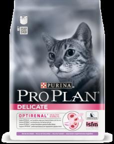PRO PLAN Delicate для кошек с чувствительным пищеварением