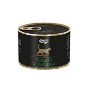 Dolina Noteci Natural Taste Cat мясные кусочки с кроликом Консервы для кошек 185 г