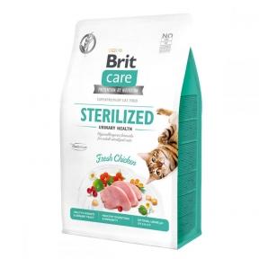Brit Care Cat Grain-Free Sterilized Urinary Health корм для стерилизованных кошек