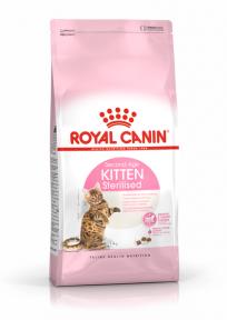 Royal Canin Kitten Sterilised для стерилизованных котят от 6 до 12 мес