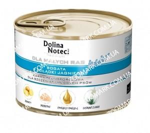 Dolina Noteci Premium Dog желудок ягненка для щенков и юниоров мелких пород 185 г