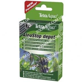 Algostop depot, Tetra — таблетки для уничтожения нитчатых и пучковатых водорослей, 12 таблеток