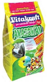 Корм для попугаев с перцем Amazonian 750г, Vitacraft