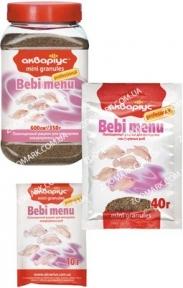Аквариус Беби-меню гранулы