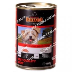 Belcando Мясо отборного качества (красный) - консервы для собак