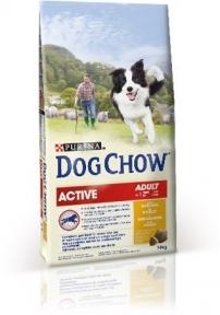 Dog Chow Active с курицей, 14кг
