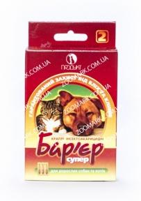 Барьер супер — капли от блох и клещей  для собак