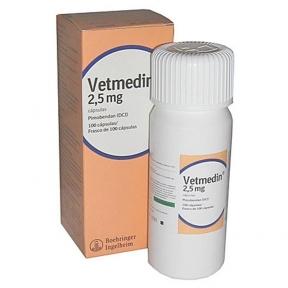 Ветмедин (Vetmedin) - при сердечной недостаточности