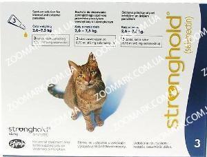 Стронгхолд (Stronghold) — капли от блох для котов и котят