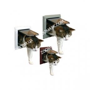 Дверь 2-х сторонняя для кота Luxe, Трикси 3864